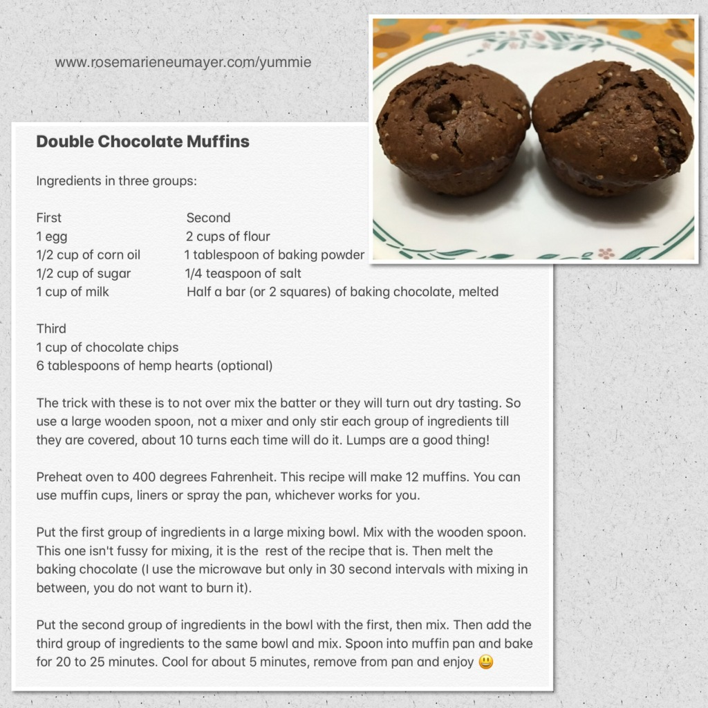 Recipe picture of Double chocolate muffins