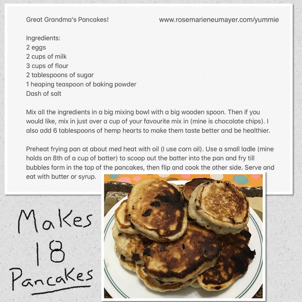 Recipe picture of Great Grandma's Pancakes