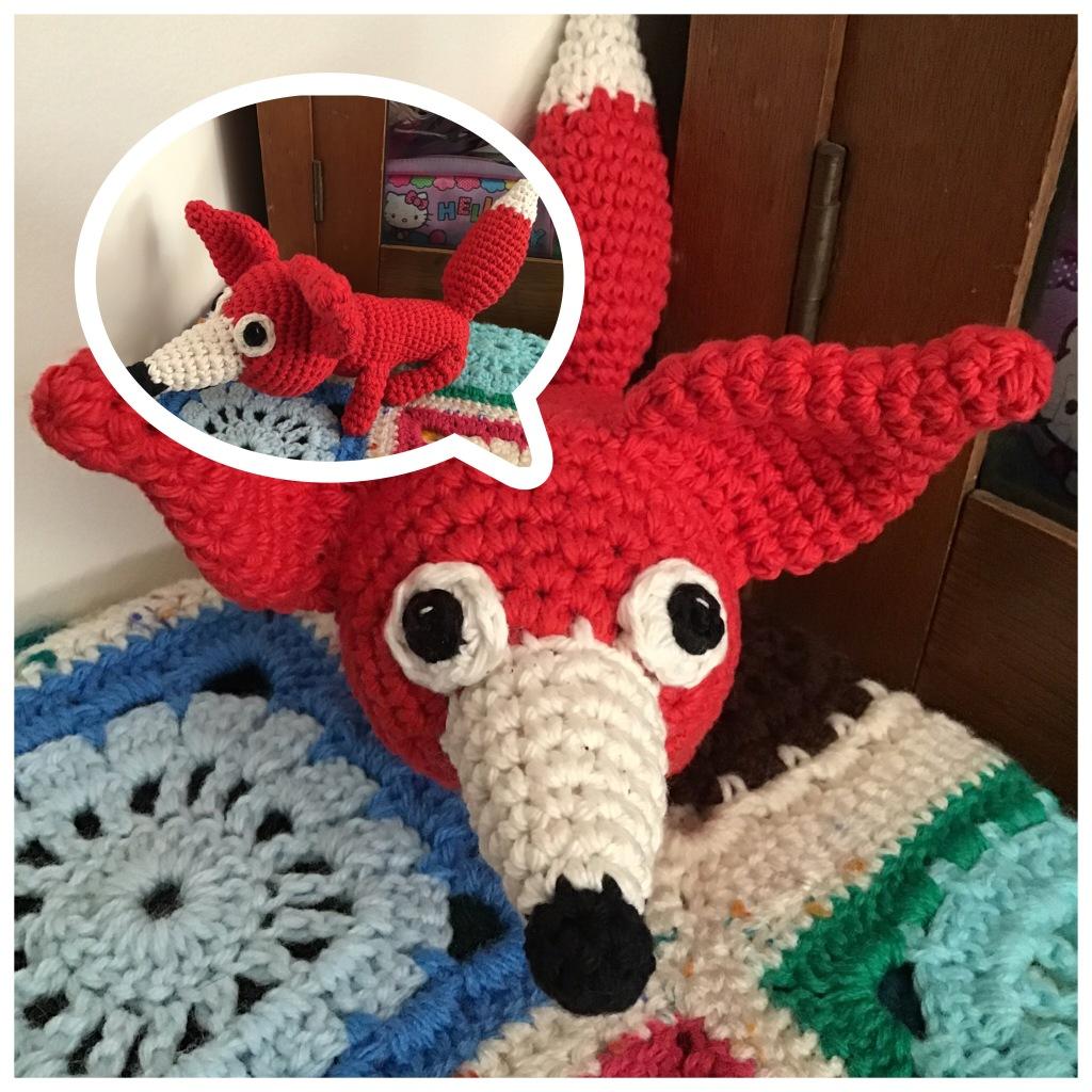 Red fox stuffie