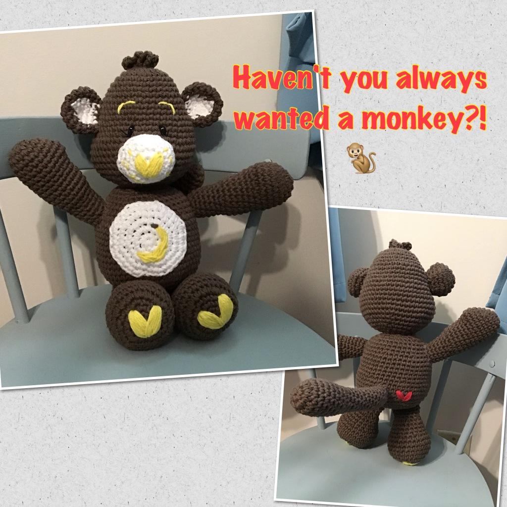 Care bears monkey