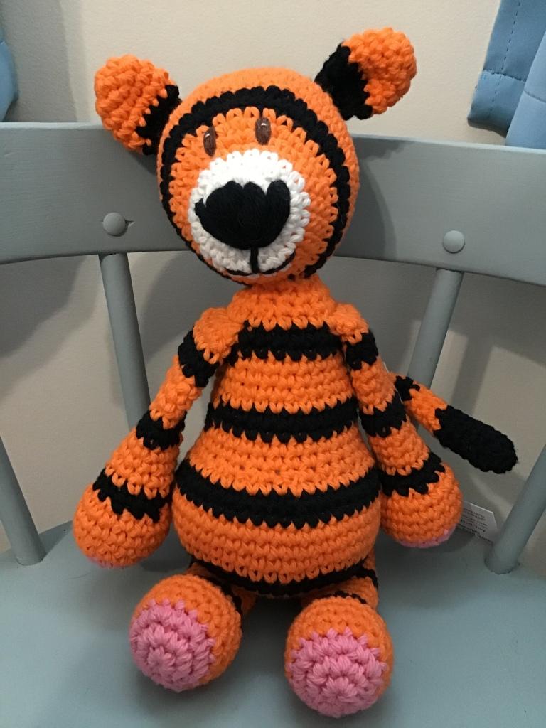 Tiger stuffie