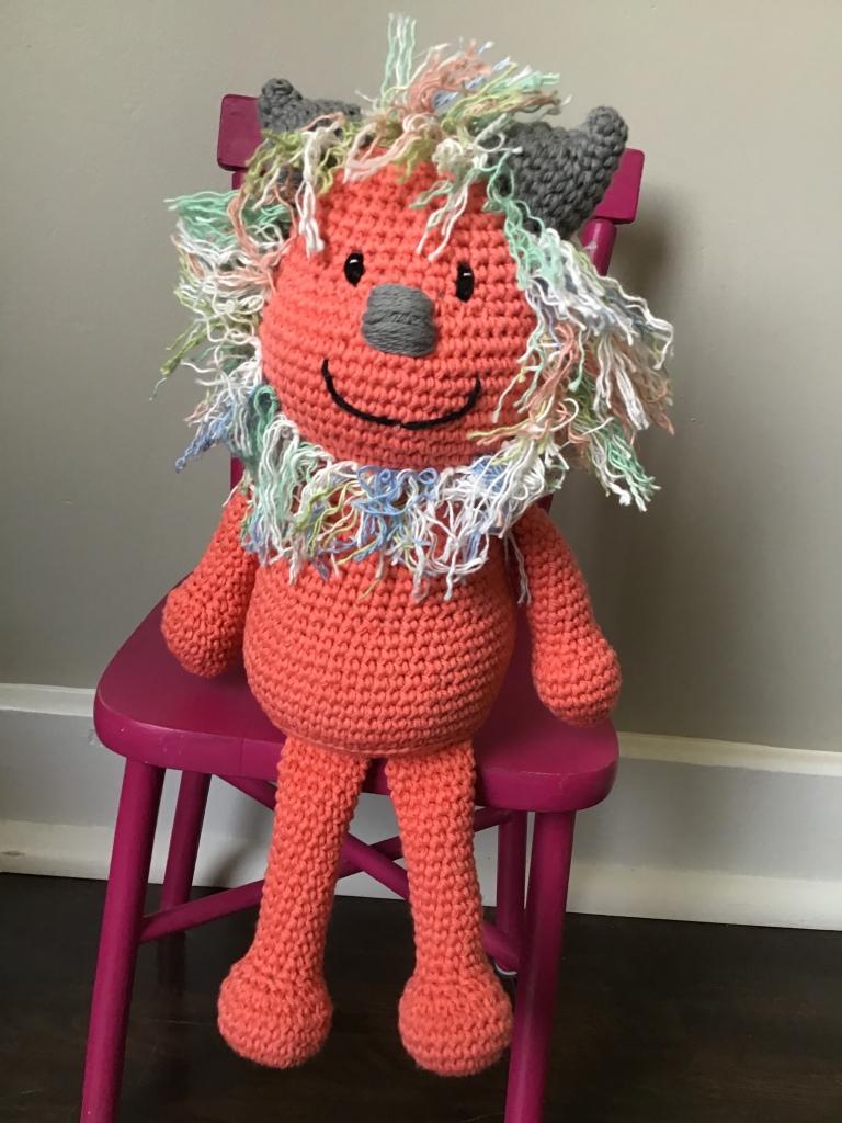 Monster stuffie